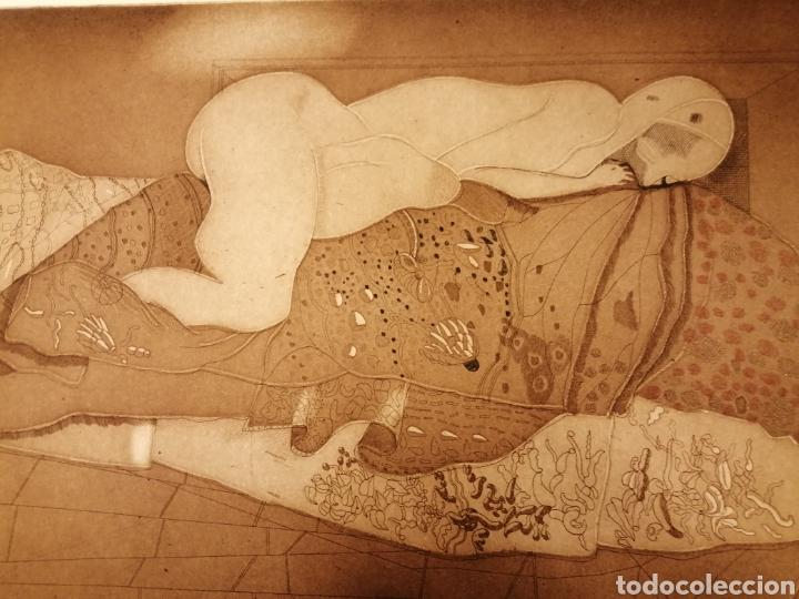 Arte: Aguafuerte de Jorge castillo. 1975 - Foto 2 - 194712721