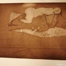 Arte: AGUAFUERTE DE JORGE CASTILLO. 1975. Lote 194712721