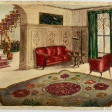 Arte: OBRA PRINCIPIO DEL XX FIRMADA G.MUNTHE. Lote 194782221