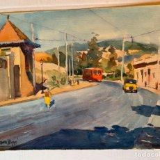Arte: ROBERTO SEGURA MONGÉ - PAISAJE URBANO. Lote 194867818