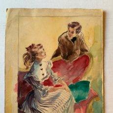 Arte: MONTSERRAT BARTA - PAREJA. Lote 194868206