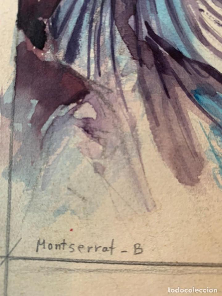 Arte: MONTSERRAT BARTA - PAREJA - Foto 2 - 194868206