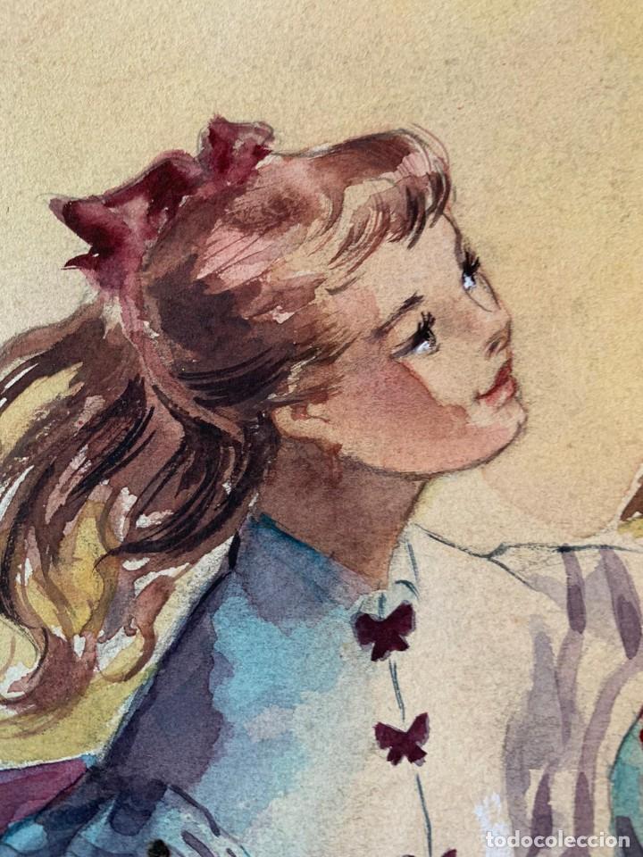 Arte: MONTSERRAT BARTA - PAREJA - Foto 4 - 194868206