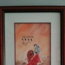 Arte: OBRA DE LA ACUARELISTA ANA AZORIN, 38X31.. Lote 194950572