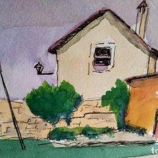 Arte: ACUARELA DE FERNÁNDEZ JOSEFÂ (BARCELONA). Lote 194966723