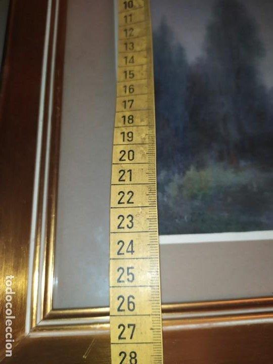 Arte: LOTE DOS ACUARELAS? FIRMADAS M V ANTIGUAS ENMARCADAS CRISTAL PRECIOSAS - Foto 17 - 195152178