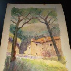 Arte: ACUARELA. Lote 195159976