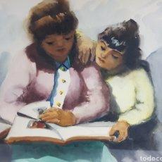 Arte: MATERNIDAD POR JOAN TORRABADELL. Lote 195390617