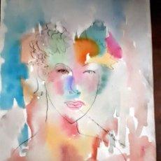 Arte: EFEBO, ACUARELA. Lote 196051717