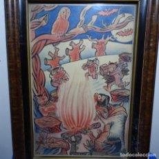Arte: ACUARELA FIRMADA DATZIRA 1948.HIVERN.. Lote 196316276