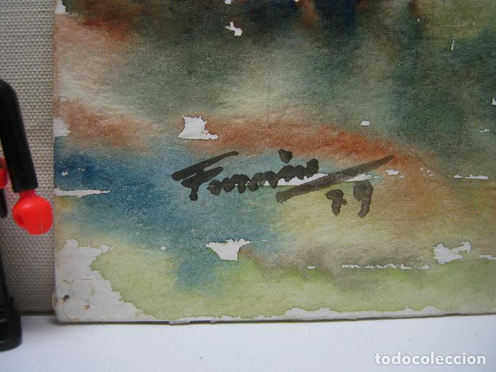Arte: Bella acuarela firmada 1979 - Ibiza - Casa en S. Gertrudis Eivissa - Foto 3 - 196376777