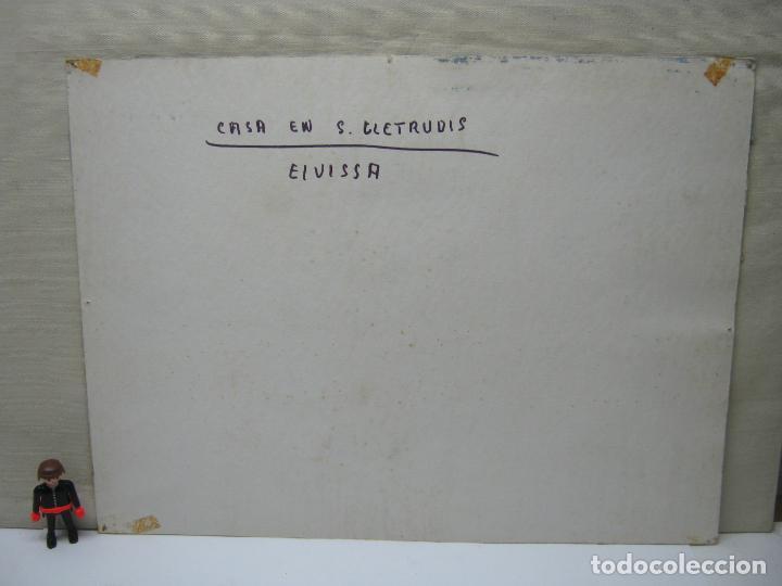 Arte: Bella acuarela firmada 1979 - Ibiza - Casa en S. Gertrudis Eivissa - Foto 4 - 196376777