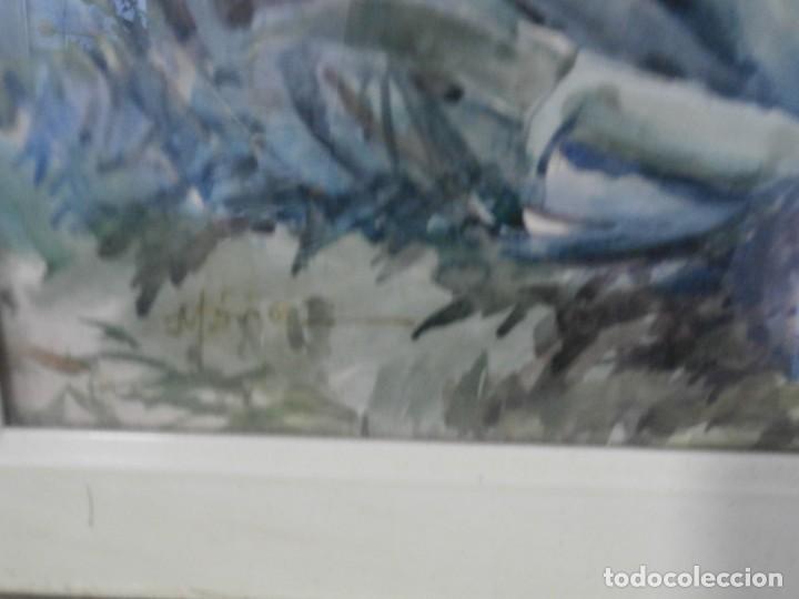Arte: acuarela firmada buen tamaño,gran calidad,rafael mañez - Foto 2 - 196383027