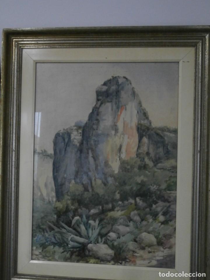 Arte: acuarela firmada buen tamaño,gran calidad,rafael mañez - Foto 3 - 196383027