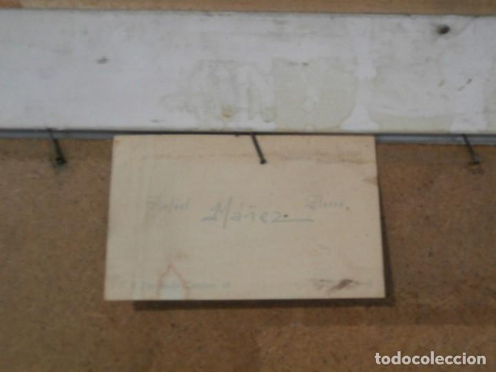Arte: acuarela firmada buen tamaño,gran calidad,rafael mañez - Foto 4 - 196383027