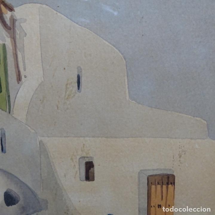 Arte: Acuarela firmada chavarino.ibiza. - Foto 5 - 196394136