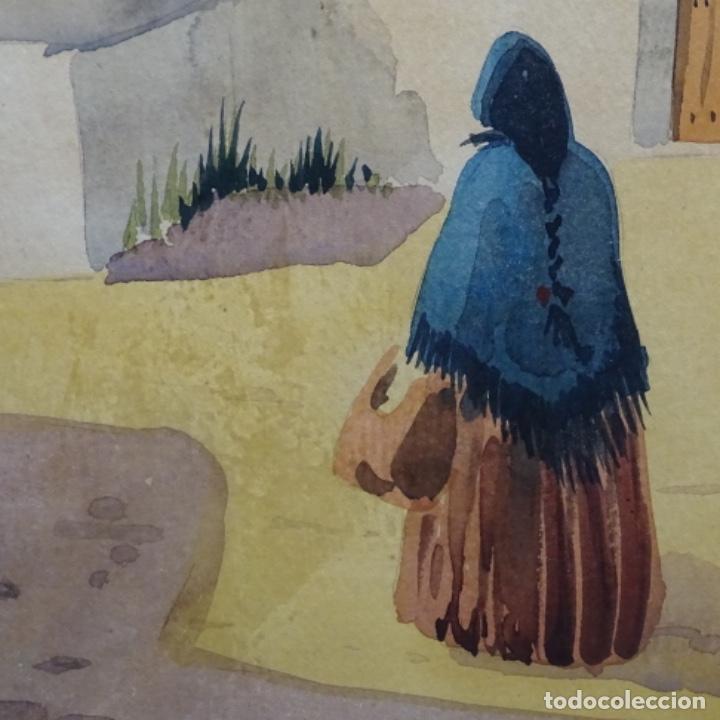 Arte: Acuarela firmada chavarino.ibiza. - Foto 6 - 196394136