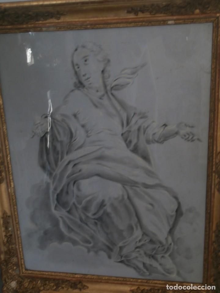 Arte: aguada de corte neoclasico,escuela noeclasica,jose vergara,vicente lopez,finales del xviii - Foto 3 - 196592918