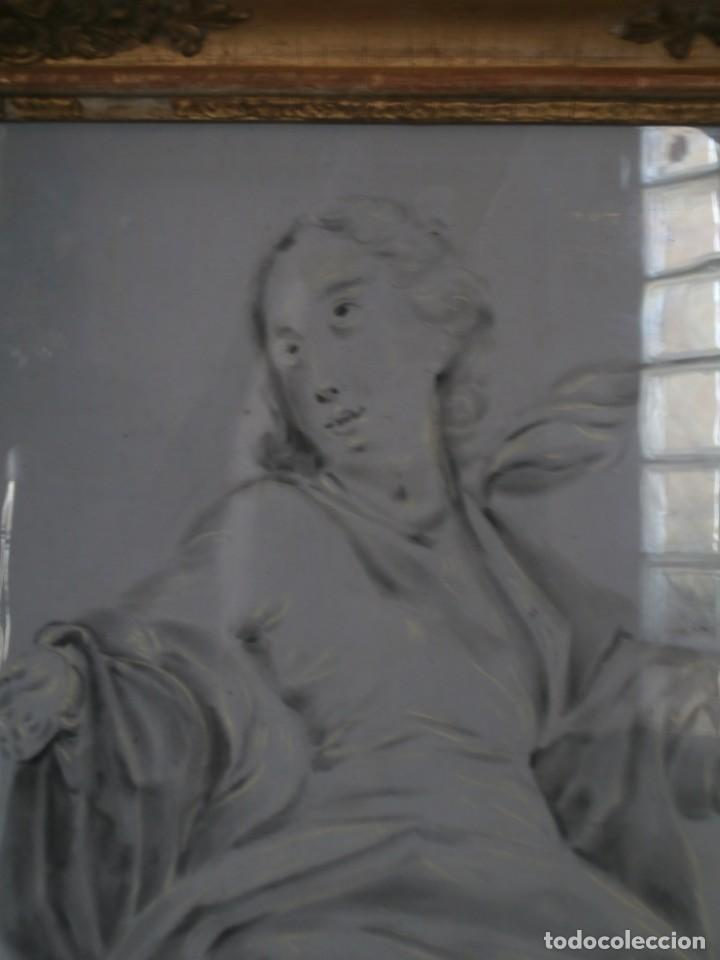 Arte: aguada de corte neoclasico,escuela noeclasica,jose vergara,vicente lopez,finales del xviii - Foto 4 - 196592918