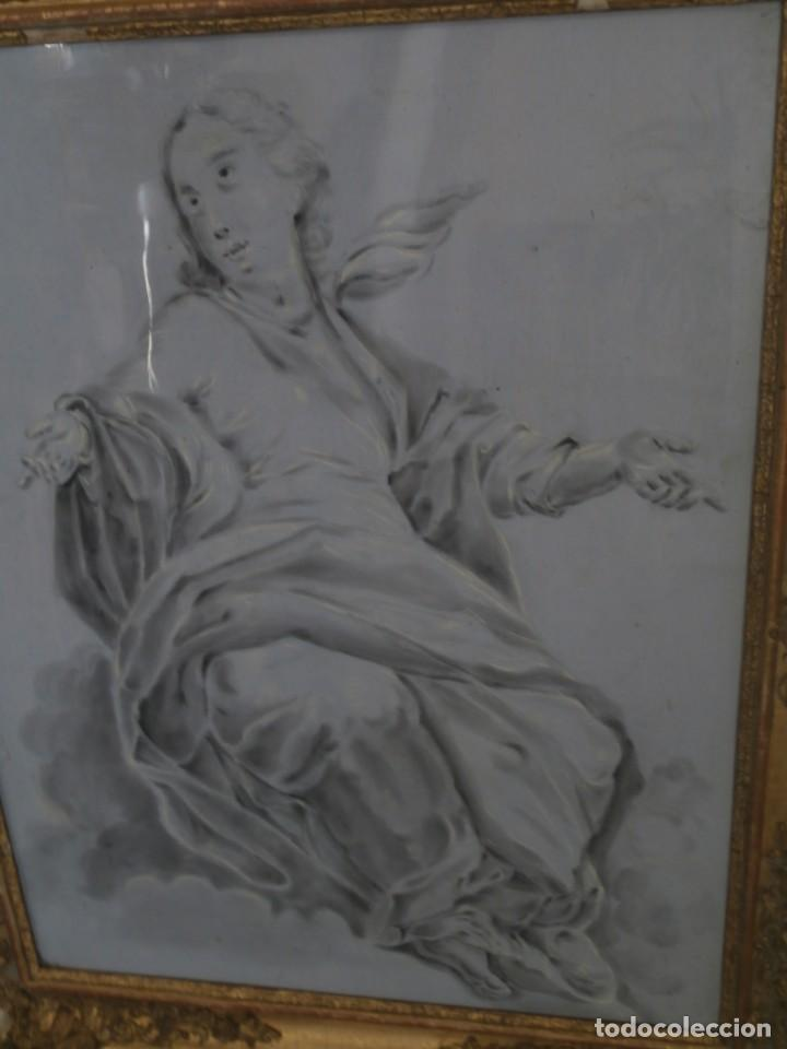 Arte: aguada de corte neoclasico,escuela noeclasica,jose vergara,vicente lopez,finales del xviii - Foto 5 - 196592918