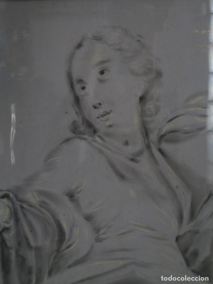 Arte: aguada de corte neoclasico,escuela noeclasica,jose vergara,vicente lopez,finales del xviii - Foto 6 - 196592918