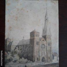 Arte: ACUARELA FIRMADA Y FECHADA GUILLAUME 1852 NOSTREDAM FINISIMO TRABAJO MAESTRO. Lote 197581257