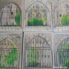 Arte: 6 ACUARELAS DE FERNANDO HURTADO SANCHIS DEDICADAS FECHADAS EN EL 36,1936 BURGOS. Lote 197757340