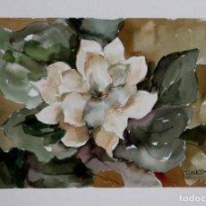 Arte: FLOR DE OTOÑO OBRA DE LUESMA . Lote 198063556