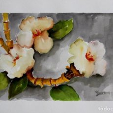 Arte: FLORES OBRA DE LUESMA. Lote 198063827