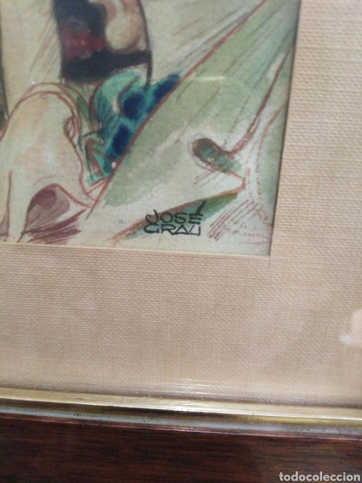 Arte: Acuarela años 30-40, José grau - Foto 3 - 198293907