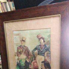 Arte: ACUARELA AÑOS 30-40, JOSÉ GRAU. Lote 198293907