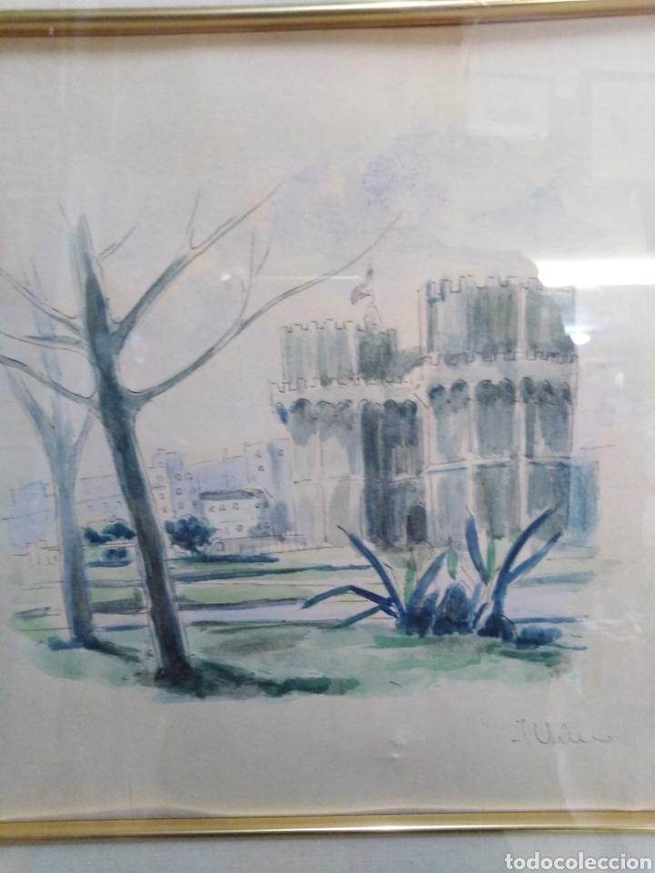 Arte: Acuarela de pintor valenciano (Valero) - Foto 2 - 198391291