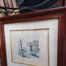 Arte: ACUARELA DE PINTOR VALENCIANO (VALERO). Lote 198391291