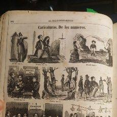 Arte: EXCEPCIONAL GRABADO 1846. ORIGINAL 17 X 26. CARICATURAS DE LOS NUMEROS. EL SIGLO PINTORESCO. Lote 198572453