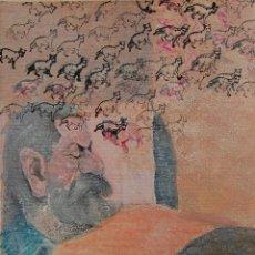 Arte: FREUD: INTERPRETACION DE LOS SUEÑOS POR MENCHI SABAT ( URUGUAY 1933 - ARGENTINA 2018). Lote 198688348