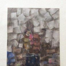 Arte: CAMPOS MARTÍN JOSÉ RAMÓN ,ACUARELA TEMÁTICA VASCA . Lote 198716712
