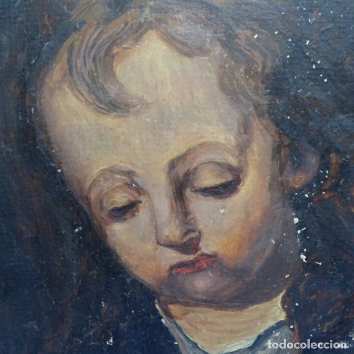 Arte: Oleo de Emilio estrella suazo( principios de s.xx barcelona,ver rafols).excelente trazo. - Foto 2 - 199078357