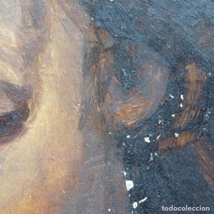 Arte: Oleo de Emilio estrella suazo( principios de s.xx barcelona,ver rafols).excelente trazo. - Foto 7 - 199078357