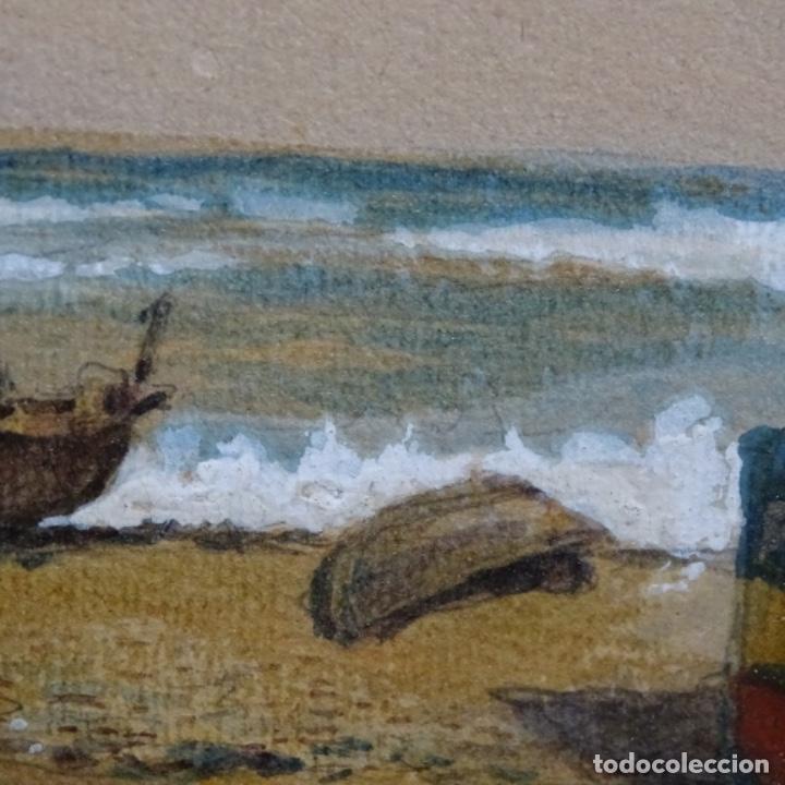 Arte: 2 Acuarelas de Emilio estrella suazo( principios de s.xx barcelona,ver rafols).excelente trazo. - Foto 8 - 199078866