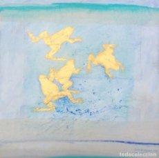 Arte: CUADRO DE RIENEKE GOLINAU. TÉCNICA MIXTA. HOLANDA.2007. FIRMADO. Lote 199258493