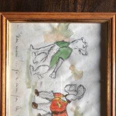 Arte: DIBUJO ORIGINAL DE BORIS O'KLEIN. Lote 199647870