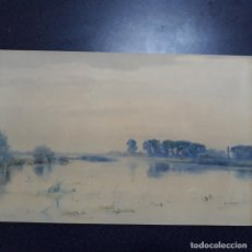 Arte: ACUARELA FIRMADA ,FAMOSO PAISAJISTA INGLES ROBERT WINTER 1872-1930. Lote 199874998