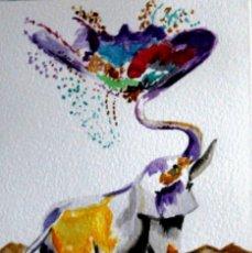 Arte: ELEFANTE DE GILABERTE. Lote 199943748