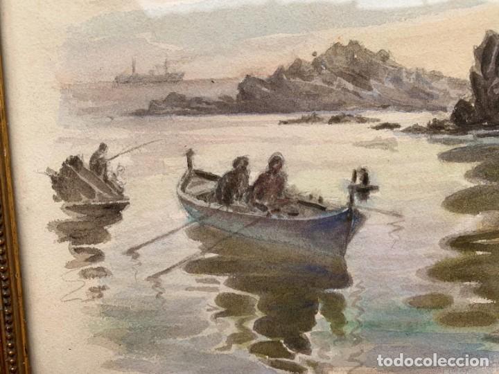 Arte: PAU SABATÉ JAUMÁ * PESCADORES - Foto 5 - 200042716