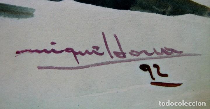 Arte: Cadaques Girona - Bella pintura acuarela firmada - Foto 2 - 200074947