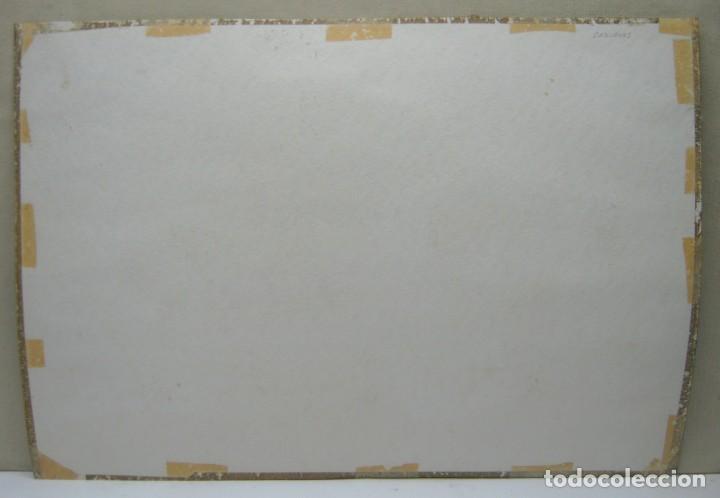 Arte: Cadaques Girona - Bella pintura acuarela firmada - Foto 6 - 200074947