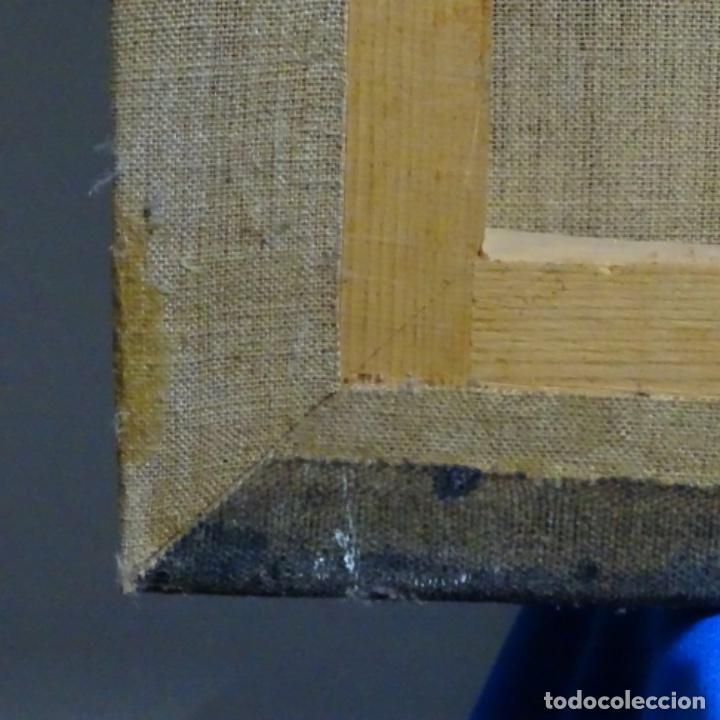 Arte: Óleo reentelado muy antiguo firmado vico.jacqueline de Picasso. - Foto 15 - 200079142