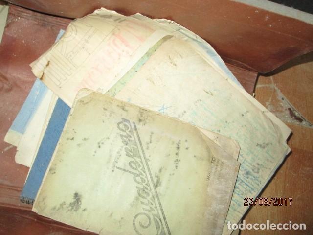 Arte: alicante carpeta con antiguos dibujos y manuscritos en libretas - Foto 4 - 200510358