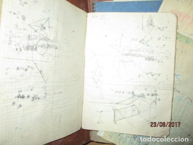 Arte: alicante carpeta con antiguos dibujos y manuscritos en libretas - Foto 5 - 200510358