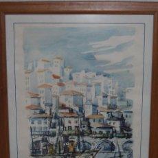Arte: ACUARELA BAO. Lote 200660428